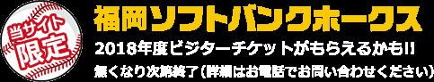2017年 SoftBank 光 ソフトバンクホークスオープン戦チケットプレゼントキャンペーン